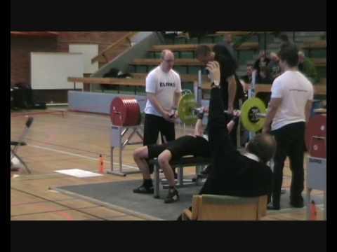Hassela Powerlifting ungdomssektion på SM