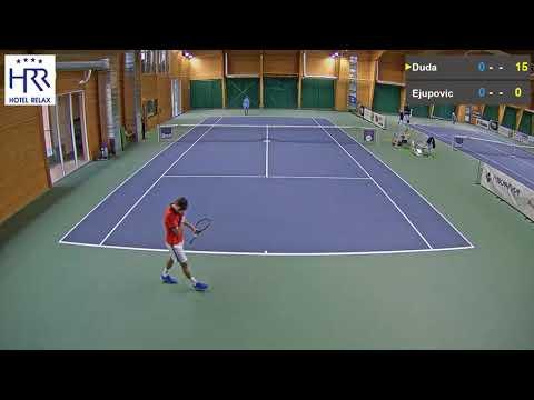 Elmar Ejupovic vs  Filip Duda 8 11 2017 ITF Futures Milovice   muži