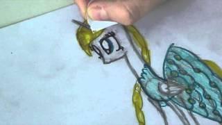 Как нарисовать пони Снегурочку(Приветик ! В этом видео я нарисовала пони Снегурочку :) некоторое время я не снимала видео и вот как я стала..., 2016-02-16T12:36:23.000Z)