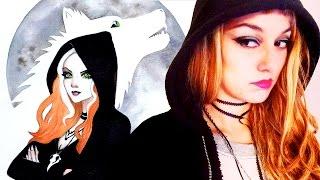 Ginger Snaps Inspired Halloween Art Speed Paint Demo