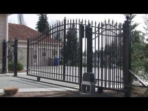 ALEKO® AC1400 Sliding Gate Opener