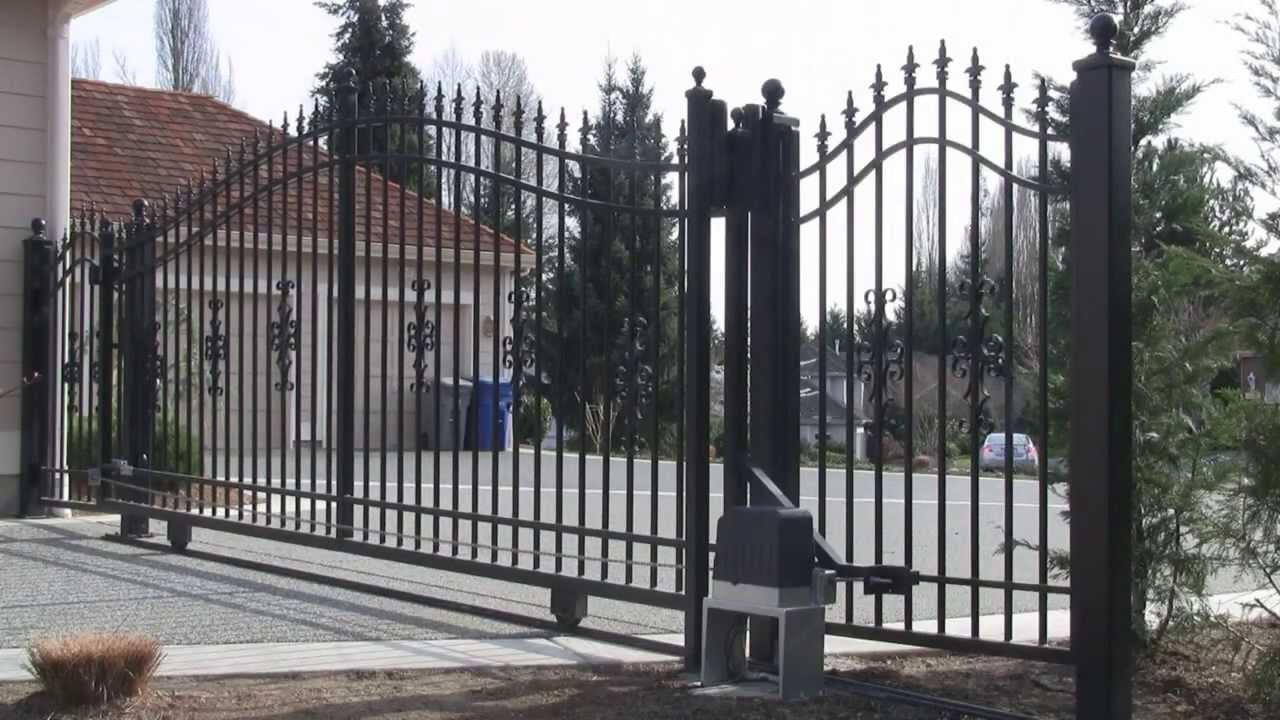 Aleko U00ae Ac1400 Sliding Gate Opener
