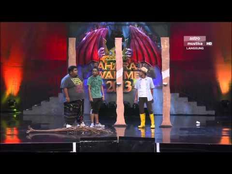 Maharaja Lawak Mega 2013 - Minggu 6 - Persembahan Bocey