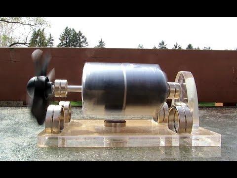 STARK-3 Levitating Solar Powered Desktop Motor Model from Banggood