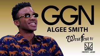 "Algee Smith Talks Saturday Morning Cereal Recipes and ""The New Edition Story"" 