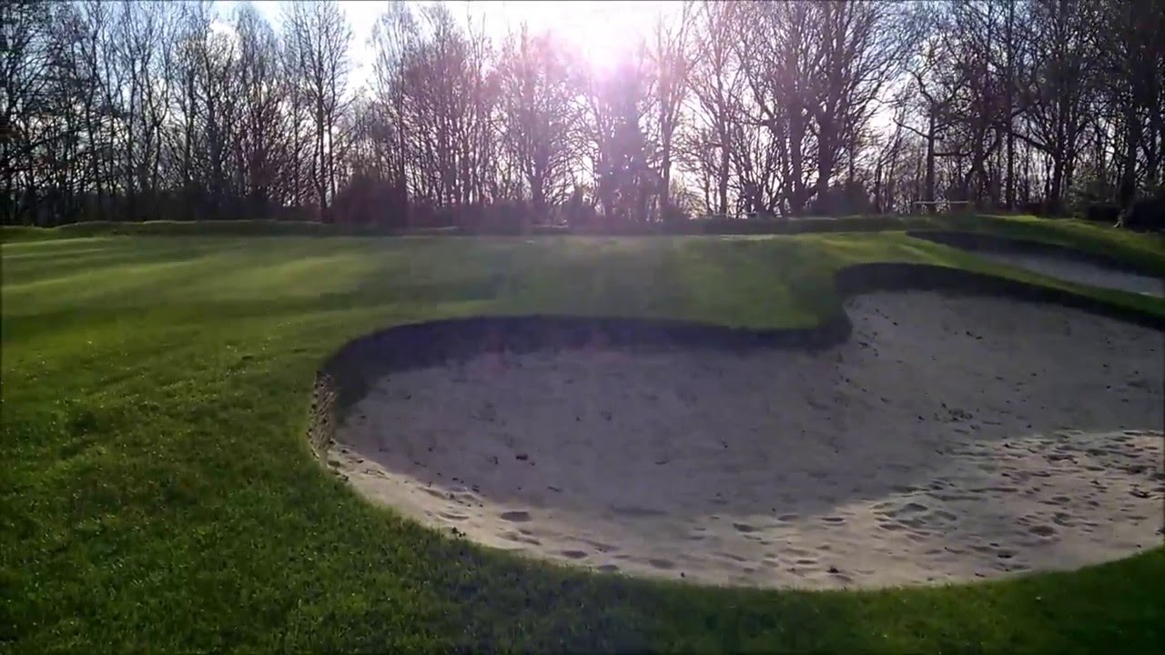 synthetic bunker edge at james braid design youtube