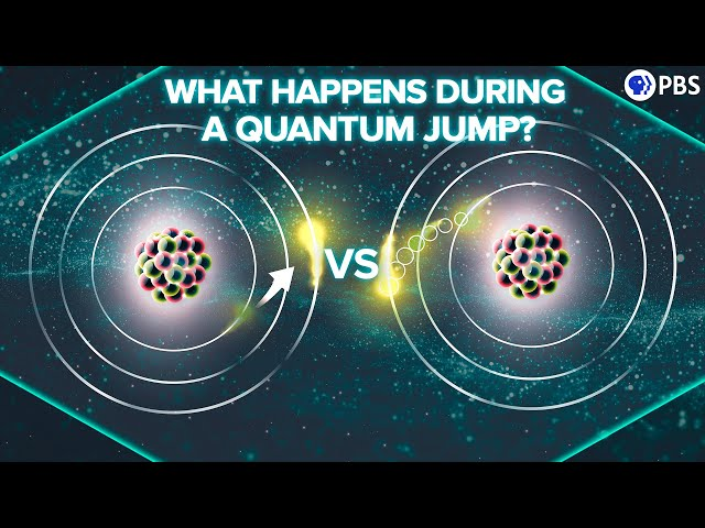 What Happens During a Quantum Jump?