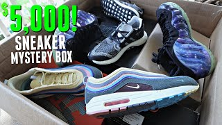 Unboxing A $5000 Sneaker Mystery Box! (MOST EXPENSIVE)