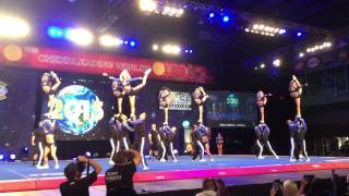 Worlds 2015 Cheer Athletics Wildcats Day 2