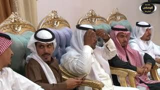 الشاعر  عدل بن محمد الرخيمي في حفل زواج الشاب محمد خليف العضيله