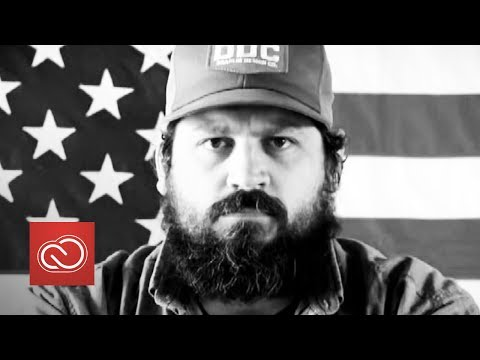 Designer Aaron Draplin - Adobe Creative Meet Up 2016 | Adobe UK