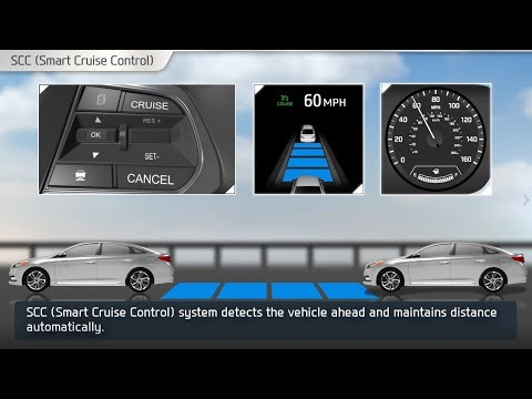 smart cruise control (scc) on hyundai youtubesmart cruise control (scc) on hyundai