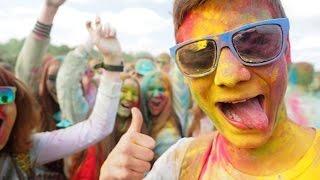 В Смоленске прошел фестиваль красок(, 2015-05-24T05:51:43.000Z)