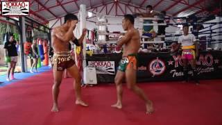 Saenchai vs Manachai Muay Thai Sparring Session 2017 - YOKKAO Training Center Bangkok