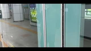 서울교통공사7호선 온수행 이수역 정차