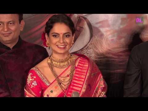 Kangana Ranaut | Ankita Lokhande at Trailer launch of Manikarnika: The Queen of Jhansi | Uncut 02
