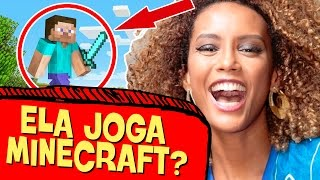 TAÍS ARAÚJO JOGA MINECRAFT?! - MAKING OF #53