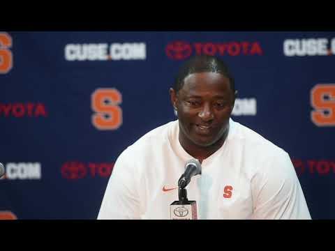 Watch Dino Babers' news conference after Syracuse football vs. North Carolina