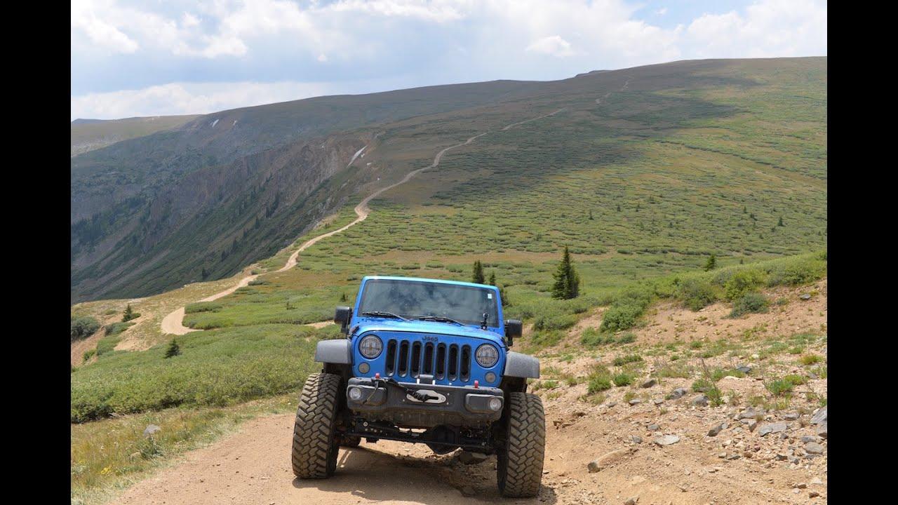 Deer Creek And Saints John Trails Colorado 4 Wheeling Jeep