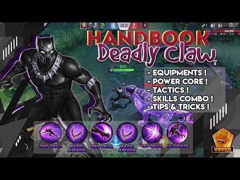 Black Panther Ultimate Guide | Equipment, Skills, Tactic, Power Core, Tips&Tricks | Marvel Super War