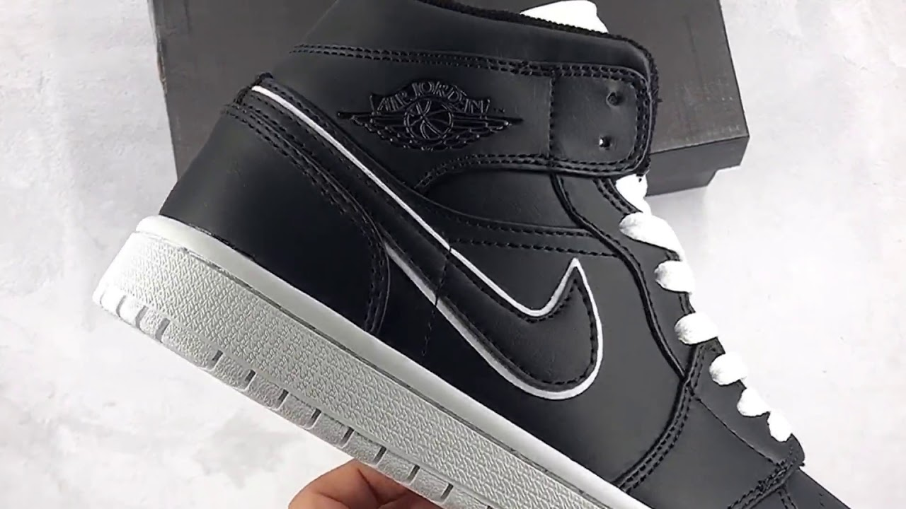 1b0f86c397e Jordan 1 Mid Maybe I Destroyed The Game Review - YouTube