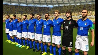 Italy vs Ukraine | Full Match & All Goals 2018 | PES 2018 Gameplay HD