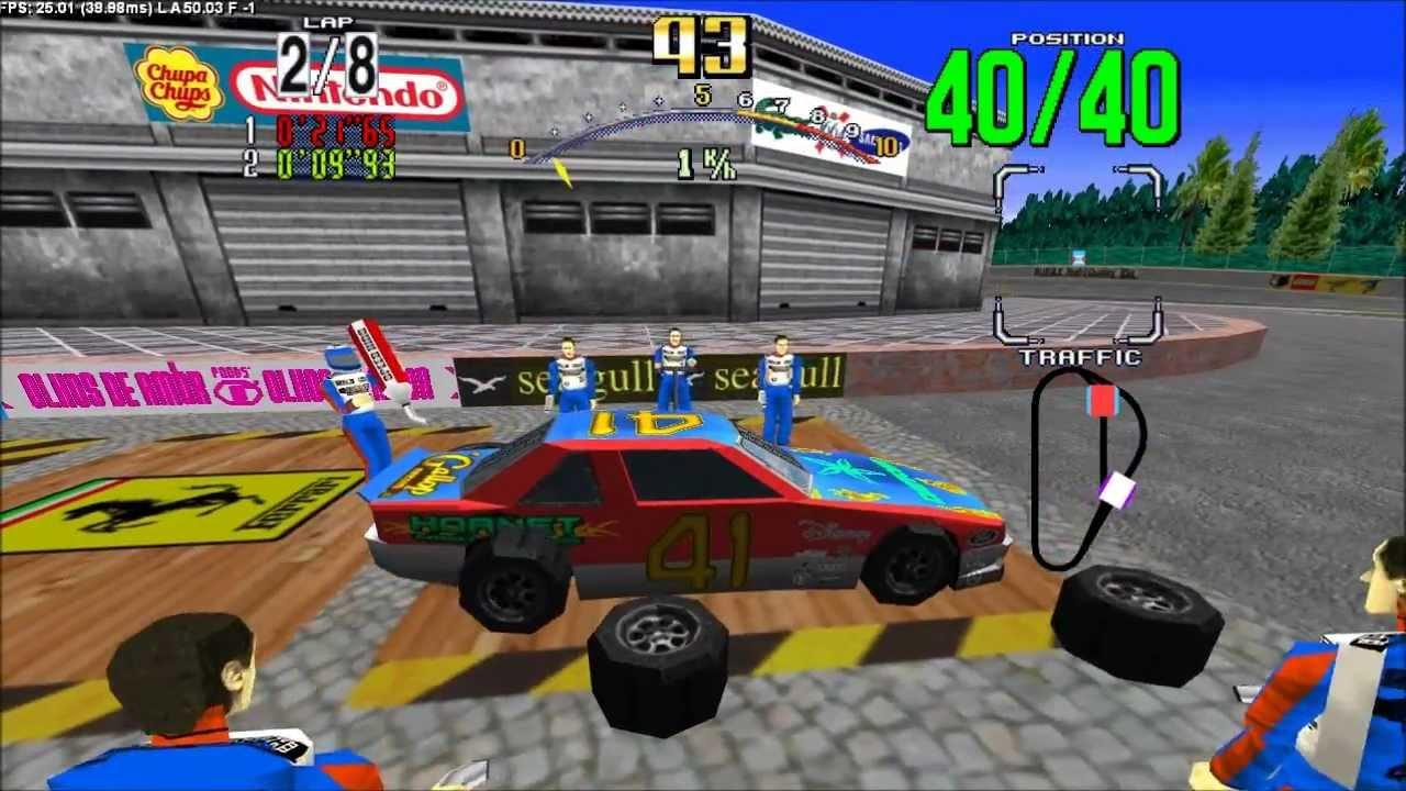 Cars That Start With J >> Daytona USA HD textured ! - YouTube