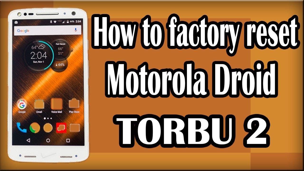 How To Factory Reset Motorola droid Turbo 2 | Hard Reset With Hardware Keys