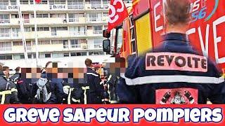 Les pompiers prolongent leurs grève de 2 mois