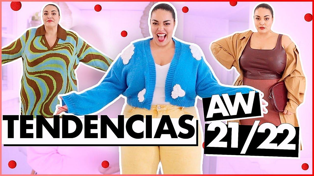 TALLA GRANDE prueba * TENDENCIAS DE MODA * Haul Otoño Invierno 2021/22 | Pretty and Olé
