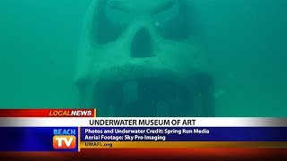 The Underwater Museum of Art is the first permanent underwater scul...