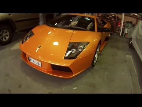 California Orange Lamborghini Murcielago Base Coat