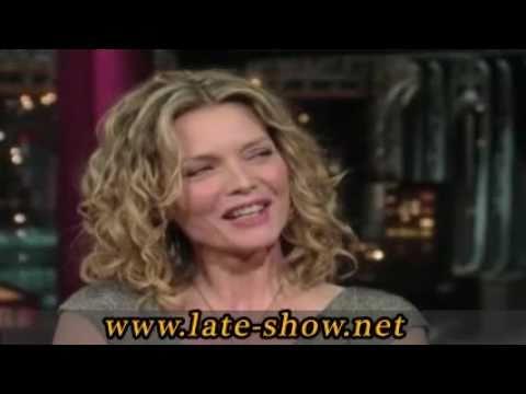 Michelle Pfeiffer Cuts Al Pacino - David Letterman...
