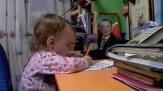 Хочет делать уроки) Леонтия Чихирина