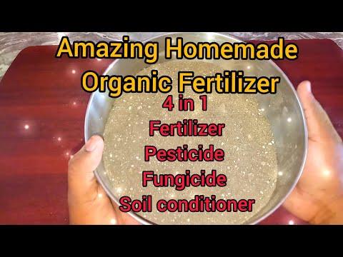 Homemade Organic fertilizer 18:16:14 NPK - Amazing Plant food