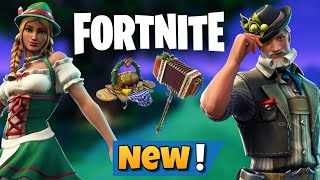 Fortnite BR: New Ludwig and Heidi Skin Sets - OktoberFeast Glider - Axcordion HT dans Item Shop!!!
