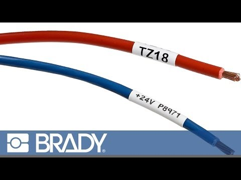 Create a Cable Marker Label with the Brady BMP®71 Label Printer