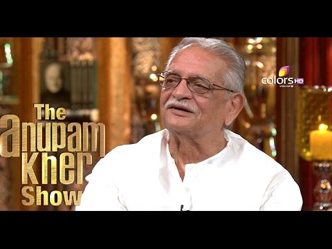 Gulzar - The Anupam Kher Show Season 2 - 9th August 2015