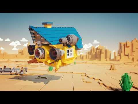 Конструктор Lego Movie 2 70831 Дом мечты: Спасательная ракета Эммета!