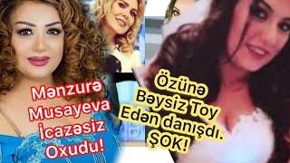 """Menzure Musayeva """"Mahnı Qalmaqalı"""". Beysiz toy eden Zarina danışdı. ŞOK!!! - DTV MAQAZİN"""