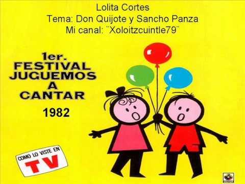 Lolita Cortes Don Quijote y Sancho Panza