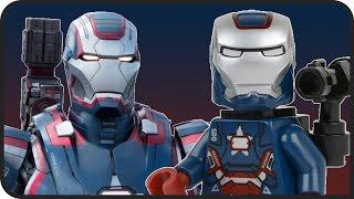 Железный патриот LEGO - Аналог ЛЕГО с фильма Железный Человек