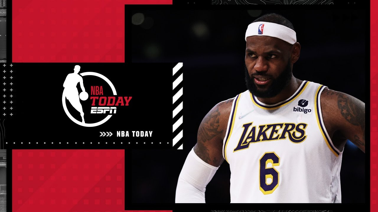 Download Reacting to LeBron James being questionable vs. Spurs with a sore right ankle | NBA Today
