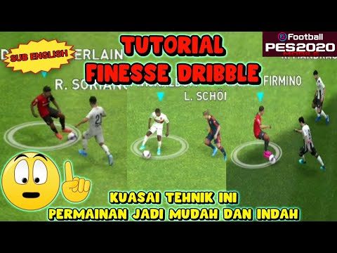 Tutorial Finesse Dribble | EFootball Pes 2020 Mobile