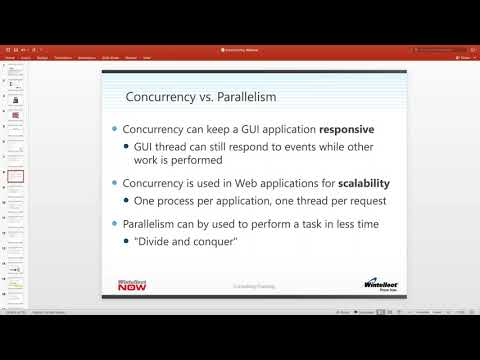 Wintellect Presents  Concurrent Programming in  NET with Jason Bell