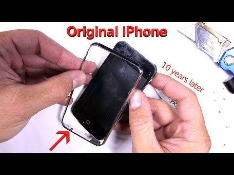 Original iPhone 2G Teardown - TEN YEARS LATER!!
