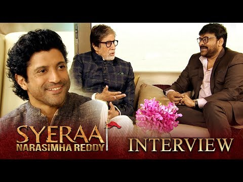 Sye Raa Interview - Chiranjeevi, Amitabh Bachchan | Farhan Akhtar | Oct 2nd Release