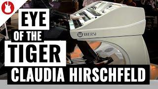 Musikmesse 2012 - Claudia Hirschfeld bei WERSI - Teil 2 - Live
