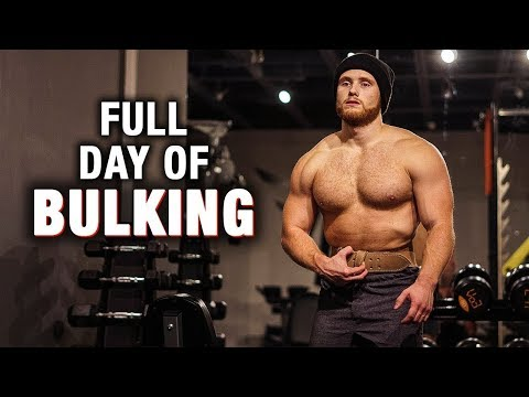 Full Day Of Eating While BULKING (Off-Season)