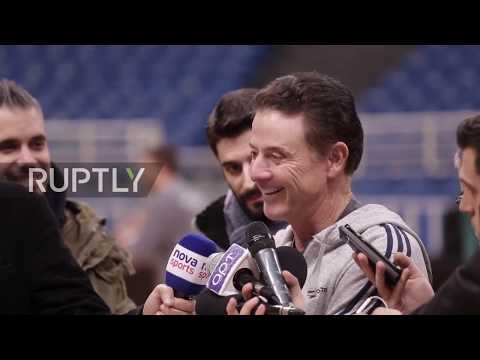 Greece: Panathinaikos' new coach Pitino vows to 'play harder' before CSKA clash